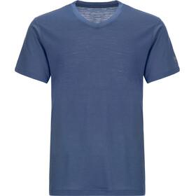 super.natural Base V Neck Tee 140 - Sous-vêtement Homme - bleu